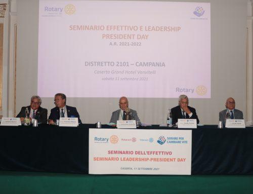 """Seminari Distrettuali """"Effettivo"""" e """"Leadership – President Day"""": un momento di felice confronto per il Distretto 2101"""