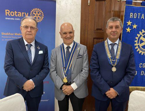 Visita del Governatore al Rotary Club Sala Consilina-Vallo di Diano