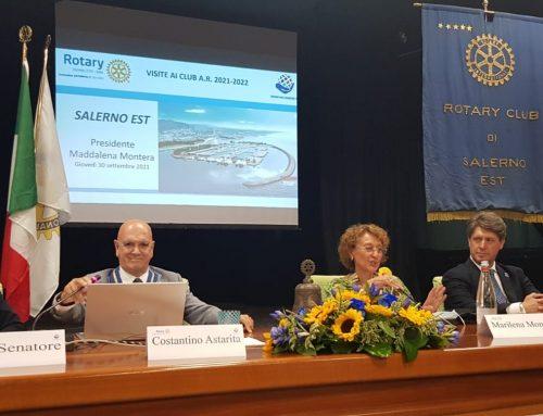 Visita del Governatore al Rotary Club Salerno Est