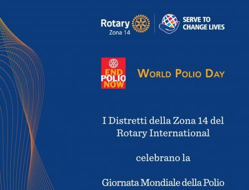 World Polio Day. I Distretti Rotary Zona 14 celebrano online la giornata del 24 ottobre